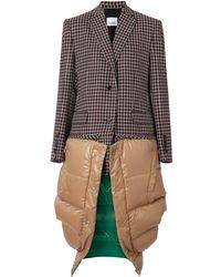 Burberry チェック テーラードジャケット&ジレ セット - マルチカラー