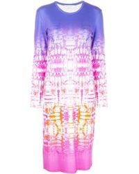 Prabal Gurung - Kleid mit Batikmuster - Lyst