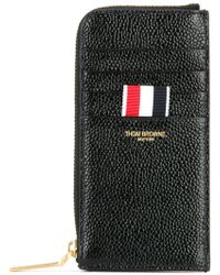 Thom Browne - Zipped Leather Wallet - Lyst