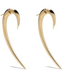 Shaun Leane Large Hook Earrings - Metallic