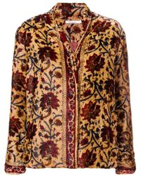Mes Demoiselles - Floral Embroidered Jacket - Lyst