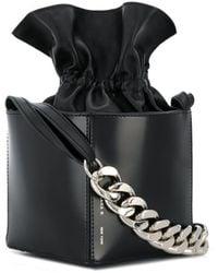 Kara Box shoulder bag - Noir
