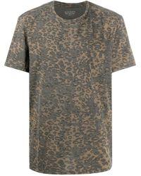 AllSaints プリント Tシャツ - ブラック