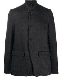 Poeme Bohemien Deconstructed Jacket - Black