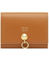 Fendi - Hanging Ring Detail Cardholder - Lyst