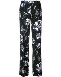 Michael Kors - Floral Print Trousers - Lyst