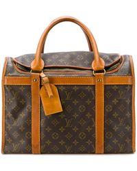 Louis Vuitton Reisetasche mit Monogrammmuster - Braun