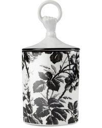 Gucci Bougie Candela Inventum Herbarium - Blanc