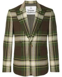 Vivienne Westwood - Tartan Suit Jacket - Lyst