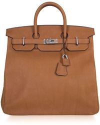 Hermès Pre-owned Limited Edition Haut À Courroies 40cm Birkin Bag - Brown