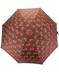 Louis Vuitton X Takashi Murakami Cherry Monogram Umbrella - Brown