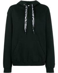 Proenza Schouler Hooded Sweatshirt With Drawstring - Black