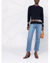 Etro Klassische Cropped-Jeans - Blau