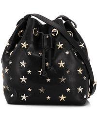 Jimmy Choo Juno Bucket Bag - Zwart
