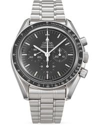 Omega Orologio Pre-owned Speedmaster Moonwatch Professional 1995 - Nero