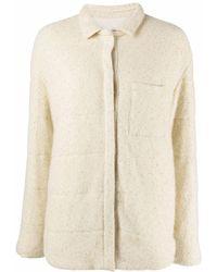 Fabiana Filippi スパンコール シャツジャケット - ナチュラル