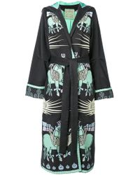 Yuliya Magdych - Dayspring Horse Embroidered Coat - Lyst