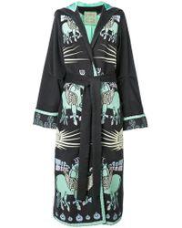 Yuliya Magdych - Dayspring Horse Embroidered Coat - Lyst