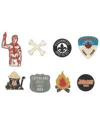 DSquared² - Boy Scout Badge Set - Lyst