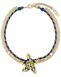 Rada' - Star Pendant Short Necklace - Lyst