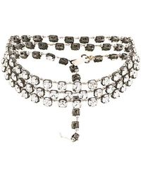 Ann Demeulemeester - Beaded Necklace - Lyst