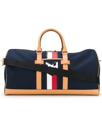 Tommy Hilfiger Contrast Logo luggage Bag - Blue