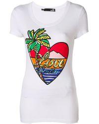 Love Moschino - Paradise Island T-shirt - Lyst