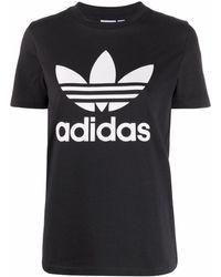 adidas ロゴ Tシャツ - ブラック