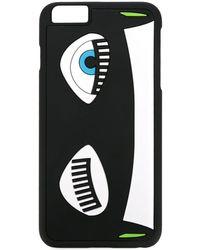 Chiara Ferragni Flirting Iphone 6s Hoesje - Zwart