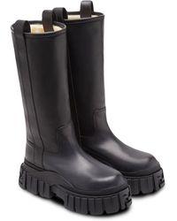 Fendi ミッドカーフ ブーツ - ブラック