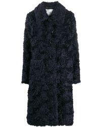 Mackintosh Длинное Однобортное Пальто - Черный