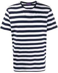 Ralph Lauren Purple Label ボーダー Tシャツ - ブルー
