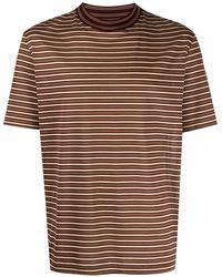 Lanvin ストライプ Tシャツ - マルチカラー