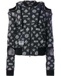 KTZ - Logo Embroidered Hooded Sweater - Lyst