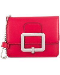 Bally Japril Wallet - Red