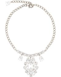 Dolce & Gabbana - Crystal Chandelier Necklace - Lyst