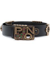 Pinko ビジュートリム ベルト - ブラック
