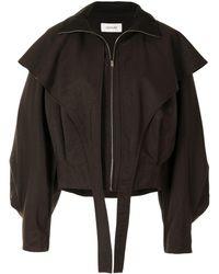 Lemaire オーバーサイズ ジャケット - ブラウン