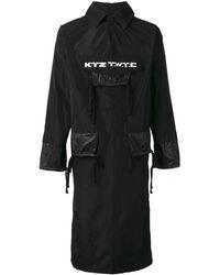 KTZ 'twtc' Elongated Jacket - Black