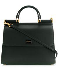 Dolce & Gabbana Sicily ハンドバッグ L - ブラック