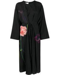 Valentino - Vestito a fiori - Lyst