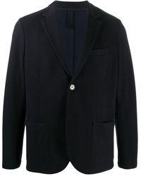 Harris Wharf London シングルジャケット - ブラック
