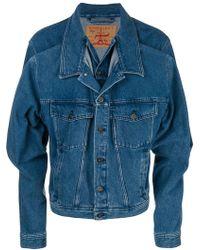 Y. Project - Double Denim Jacket - Lyst
