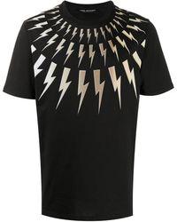 Neil Barrett - Thunderbolt Tシャツ - Lyst