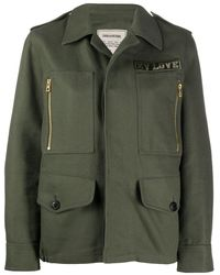 Zadig & Voltaire Kode Military Jacket - Green