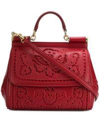 Dolce & Gabbana Sicily Draagtas - Rood