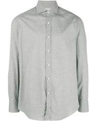 Brunello Cucinelli Классическая Рубашка - Серый