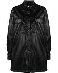 Apparis Riley シャツジャケット - ブラック