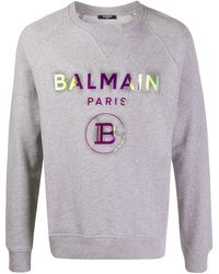 Balmain ロゴ スウェットシャツ - マルチカラー