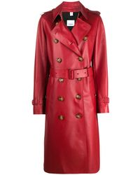 Burberry 'The Kensington' Trenchcoat - Rot